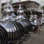 kubah stainless steel