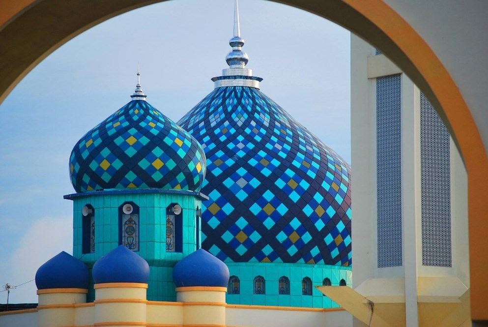 kubah enamel kubah masjid