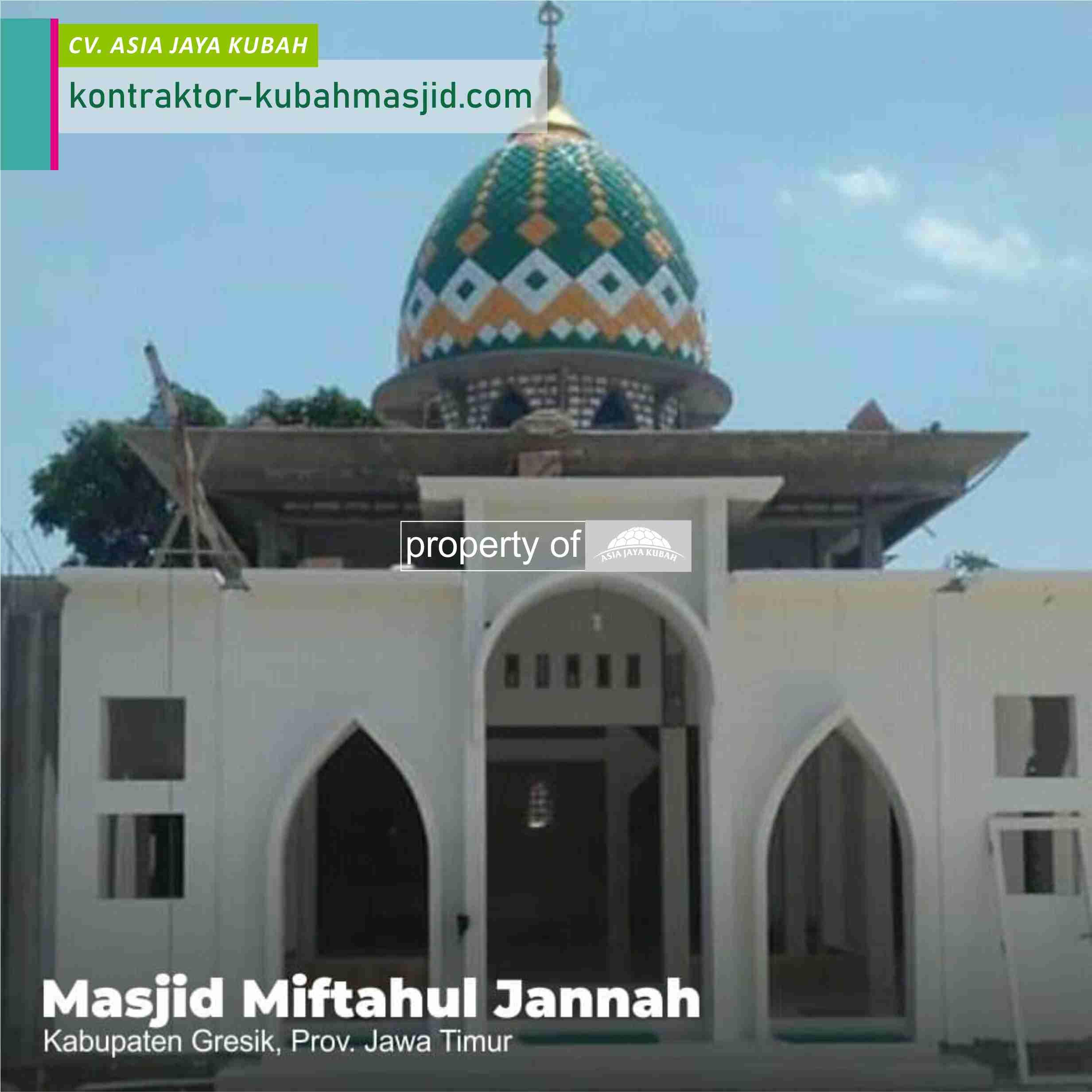 Harga Kubah Masjid Galvalum 2022 di Sumatera Selatan