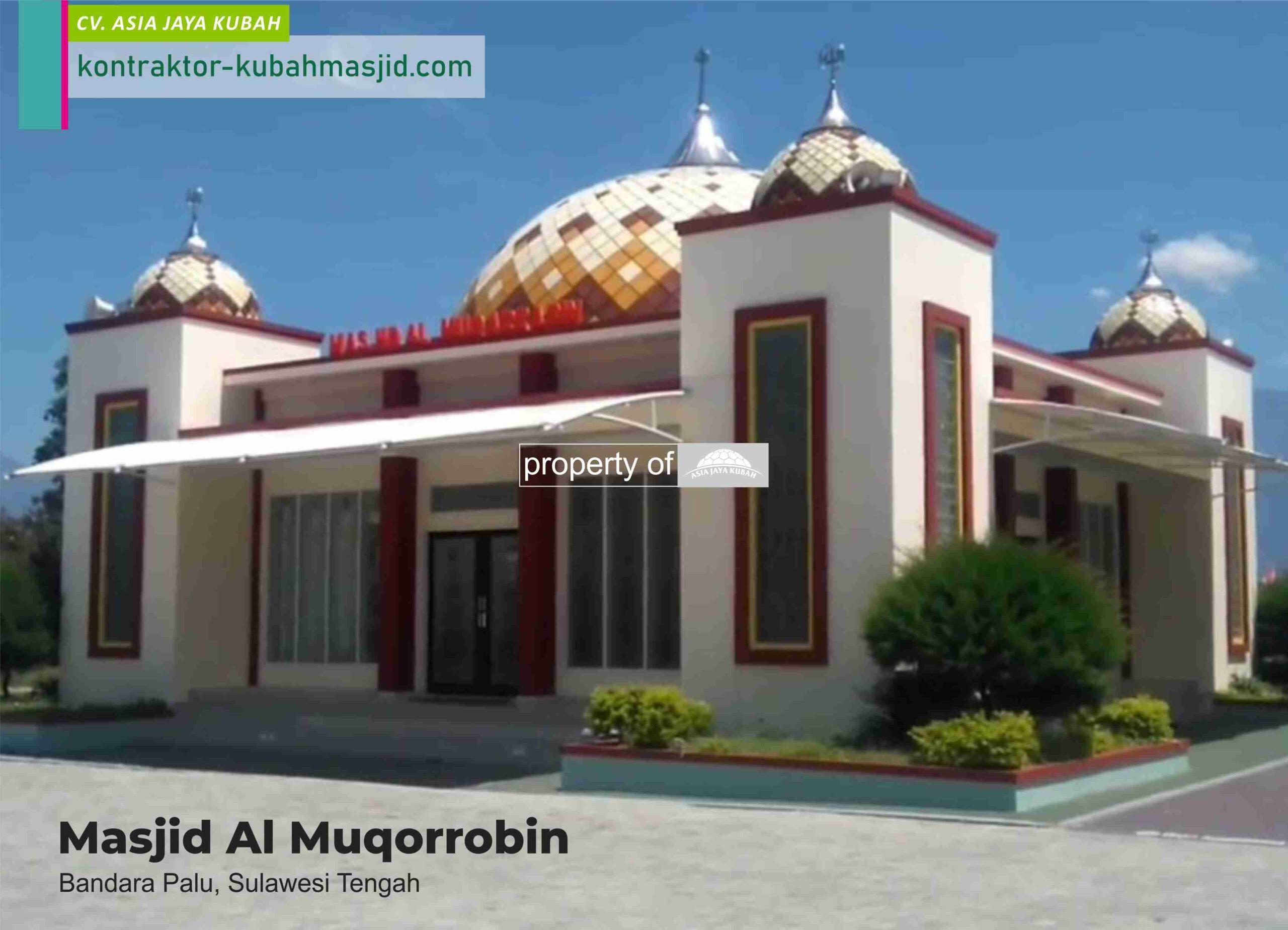 Jasa Pembuatan Kubah Masjid Enamel di Kayu Agung