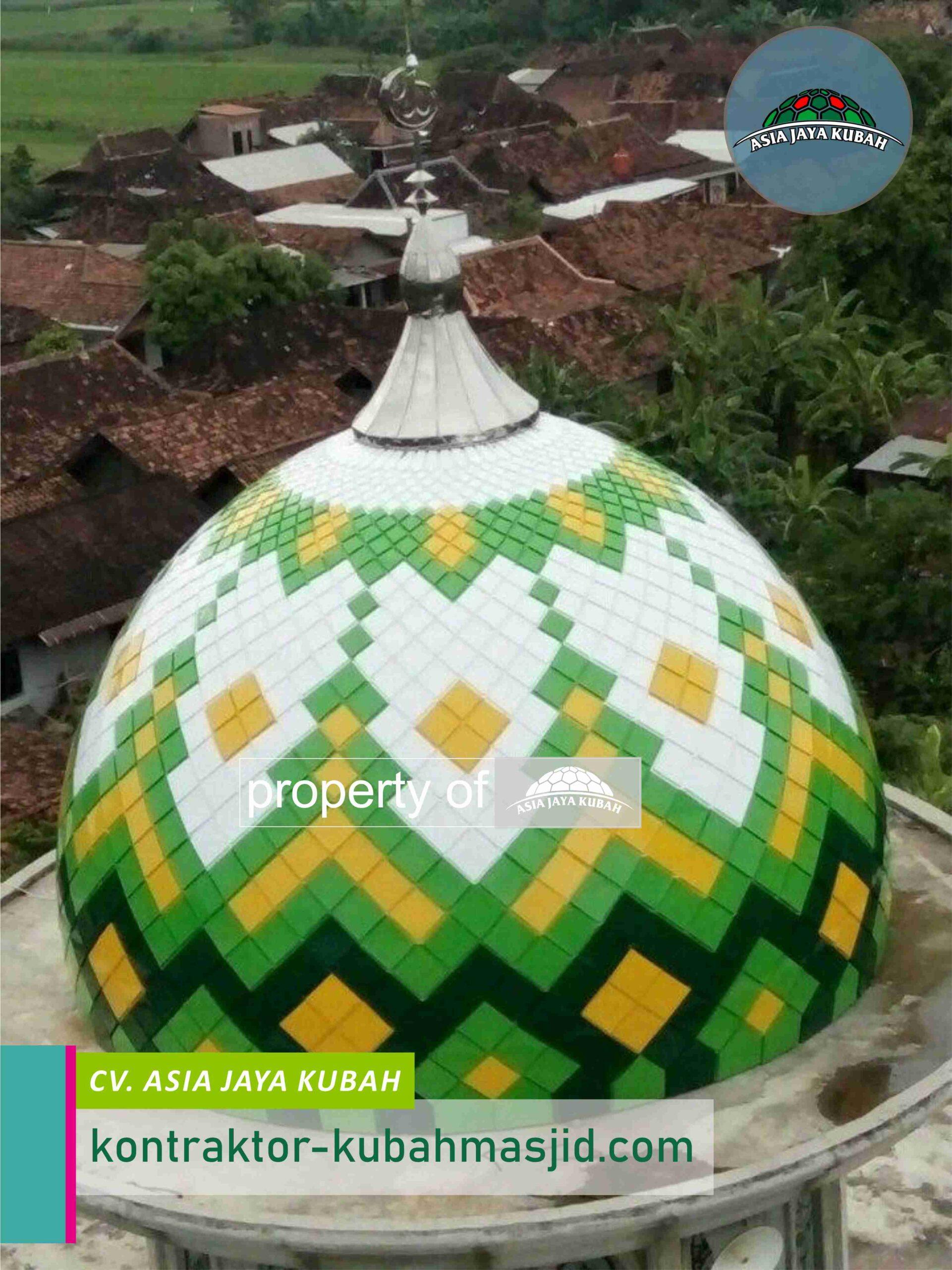 Jasa Pembuatan Kubah Masjid Galvalum di Weda